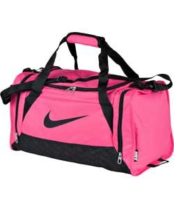 Image Unavailable. Image not available for. Colour  Nike Brasilia Small  Holdall - Pink ... 6505affb0d47c