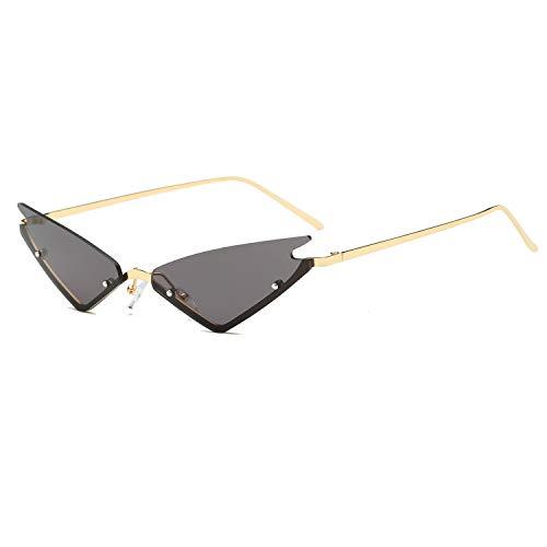 FAGUMA Small Cat Eye Sunglasses For Women Vintage Square Shades