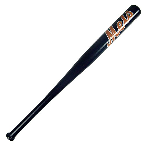 [New York Mets Official MLB Mini Baseball Bat Navy Blue by Coopersburg Sports] (Mets Display Cases)