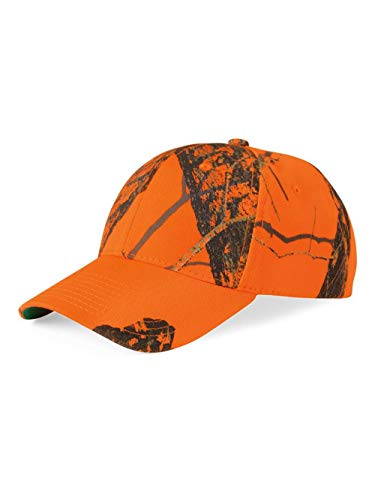 Outdoor Cap Hunting Basics Cap Blaze Orange Camo Cap