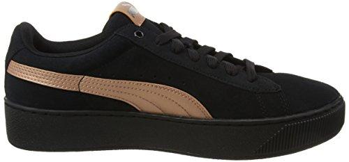 black Femme Basses Platform Puma Vikky Noir Rg Rose copper Sneakers wX0vcFxqWg