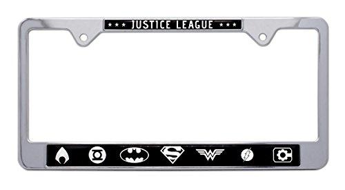 dc comics license plate frame - 1