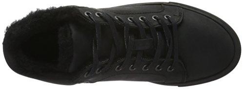 Bianco Wool Sneaker Boot Jja16, Botines Para Mujer Negro - Schwarz (10/Black)