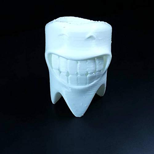 Smiling Teeth Toothbrush Holder Doctor Recommended Also Holds Markers Pens /& Pencils