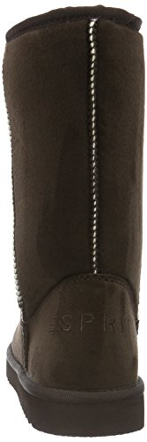 Uma Esprit Marron Souples Dark Femme 200 Classic Brown Bottes Tqr7dq