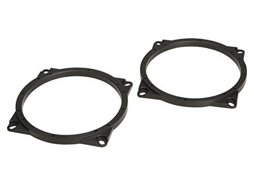 "SCOSCHE SAHY651 2014 to 2015 Hyundai Santa Fe 6.5"" Front Door Speaker Adapter Pair by Scosche"