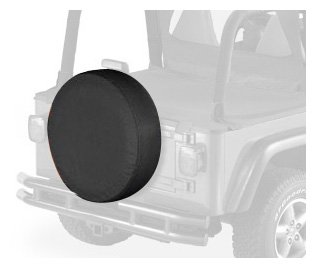 "Bestop 61028-35 Black Diamond Small Tire Cover for tires 28"" diameter, 8"" deep"