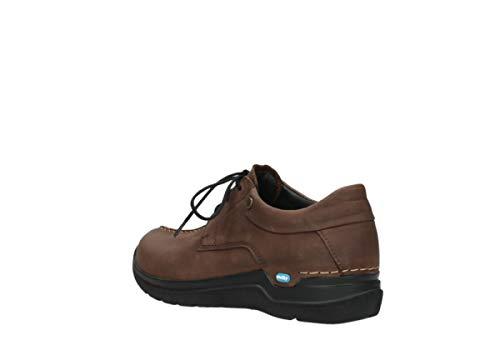 Wolky Nubuck Wasco À Comfort Lacets Cognac Chaussures 11430 8vrH8
