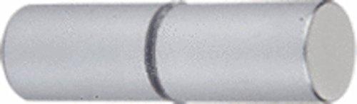Cylinder Brushed Chrome Finish Shower