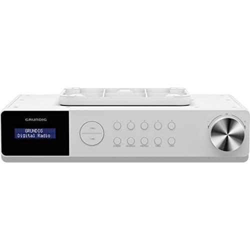 chollos oferta descuentos barato Grundig DKR Dab Radio de Cocina con Bluetooth y Dab Incluye recepción Dab Blanco