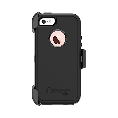 OtterBox Defender Series Case for iPhone 5/5s/SE - Black - Frustration Free Packaging by OtterBox (Image #9)