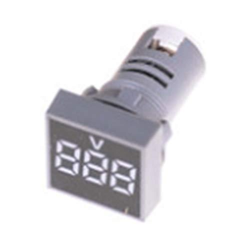 22MM AC12-500V Voltmeter Square Panel LED Digitals Voltage Meter IndicatoHFji