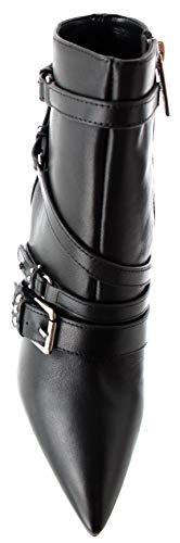 Scarpe Boot D19lj07 Pelle Liu Jo Donna 90 Ankle 05 Nero Lola Tc Mod rwgrUx7t
