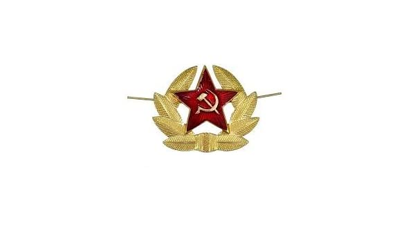 d3cadbae032 Ruso ejército grande Pin ESCARAPELA insignia Soviética URSS Militar  sombrero gorra Kokarda Cossack  Amazon.es  Hogar