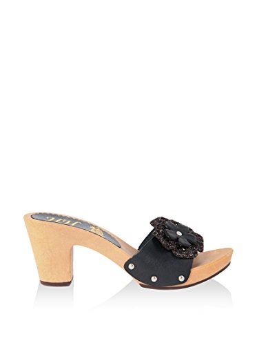 hh-Made in Italy Mules Negro EU 40