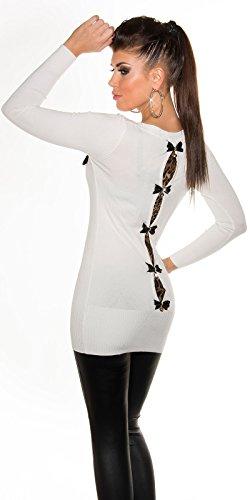 KuoCla - Jerséi - para mujer blanco