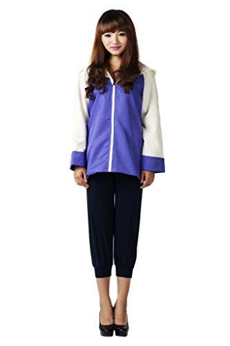 Price comparison product image Mtxc Women's Naruto Cosplay Hyuga Hinata 2nd Size M-Plus Blue