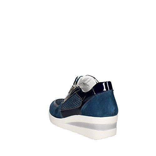 Bassa Soft Cinzia Sneakers Blu Iv6655 Donna aset 002 wzSSdFZqC