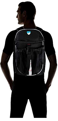 Hard Work Sports Basketball Backpack, Soccer Bag with Ball Compartment Unisex One Size by Hard Work Sports (Image #4)