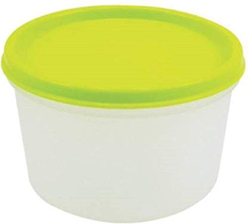 VGMAX_AW_Mini Round Box 500ml 1 Containers Lunch Box  500 ml    500 ml Plastic Grocery Container  Multicolor