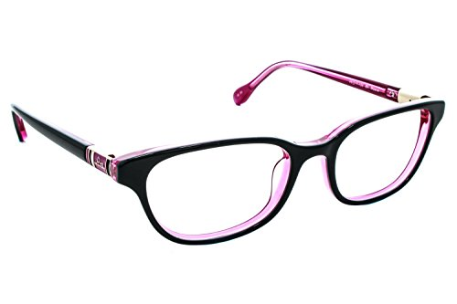 Lilly Pulitzer Lunettes Maeve Noir/Rose 49 MM