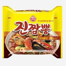 Korean Noodle Ottogi Jin Spicy Seafood Noodle Soup Ramen Misc