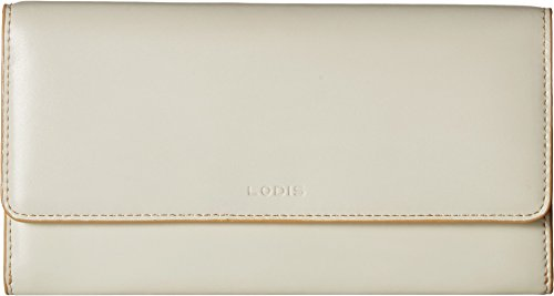 Lodis Women's Audrey Rfid Luna Clutch Wallet, Cream/Natural, One Size by Lodis