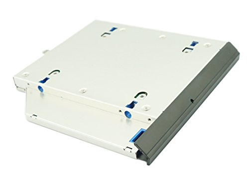 Nimitz 2nd HDD SSD Hard Drive Caddy for Hp 8560w 8570w 8760w 8770w with Faceplate/bezel and Mounting -