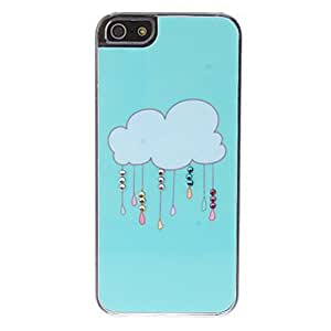 Cartoon Cloud Pattern Hard Case for iPhone 5/5S