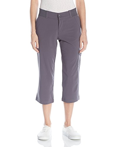 Riders by Lee Indigo Women's Performance Capri, Iron, 14/Medium