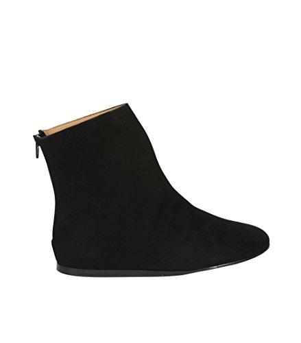 THE LAST CONSPIRACY Damen High-Top Sneaker Aus Wildleder 001 Black