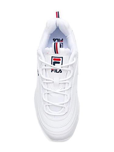 Fs1sia1160x Fila Zapatillas Blanco Hombre Poliuretano pFFqH5