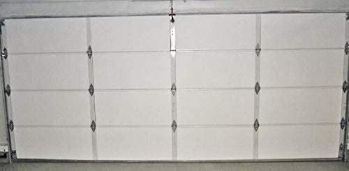 "1 Panel R8 1 Car Size Garage Door Insulation  21/"" x 10ft Reflective Foam Core"