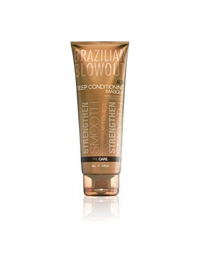 Body Masque - Brazilian Blowout Acai Deep Conditioning Masque for Unisex, 8 Ounce