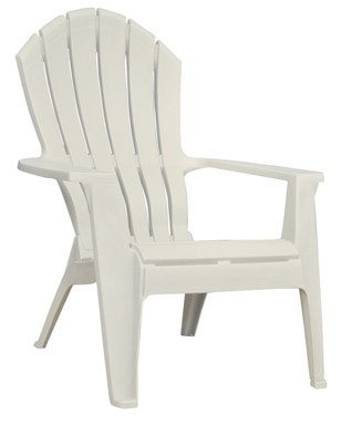 Set Of 8   Adams Adirondack Ergonomic High Back Weather Proof Resin  Stacking Chair   Clay