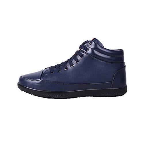 Más Ocio Alta Ayuda Bluesingle Respirable Antideslizante De ll Hombres Zapatillas Juventud Terciopelo Lazo Los Whl Zapatos Delantero Solos UvX8qWwW