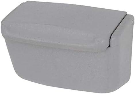 EUEMCH 灰色のプラスチック製灰皿