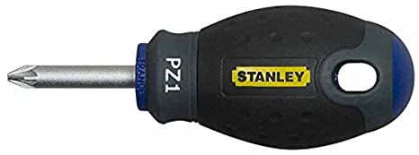 Stanley Fat Max Screwdriver Insulated Pz Pz2X125Mm-Red And Yellow Stanley Black & Decker 1-65-419