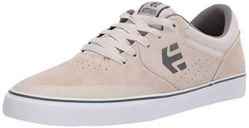 Etnies Men's Marana Vulc Skate Shoe White/Grey/Gum 8 Medium US (Best Shoes For Skateboarding 2019)