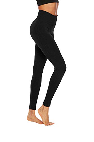 Workout Fitness Alta Fliegend Elastici Nero Sportivi Up Leggins Donna Push Pantaloni Sport Yoga Leggings Da Corsa Vita ZwHBCq