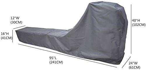 Rowing Machine Cover, Fitness Equipment Covers Protective Cover Dustproof Waterproof Cover and Water-Resistant Stationary Fitness Fabric Ideal for Indoor Or Outdoor use Gray