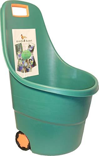 Animal Supplies International Bucket W/Wheels All-in-one 40l