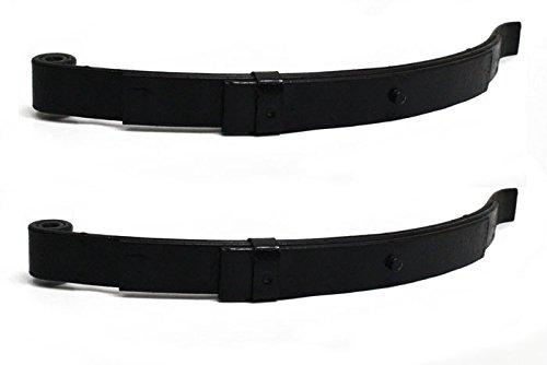 3-Leaf Single-Eye Spring for 2,000-LBS Trailer Axles - 2 Pack