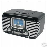 Retro 60 S Style Radio Cd Player Amazon Co Uk Electronics