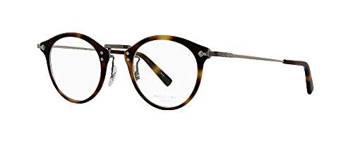 Masunaga Unisex Designer Eyeglasses GMS 805 13 Demi Size - Eyewear Masunaga