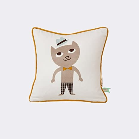 Ferm Living Cat Cushion 30x30cm: Amazon.es: Hogar