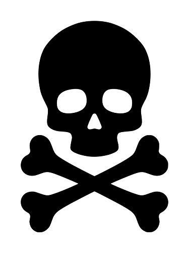 Minglewood Trading Black - Skull and Crossbones 5