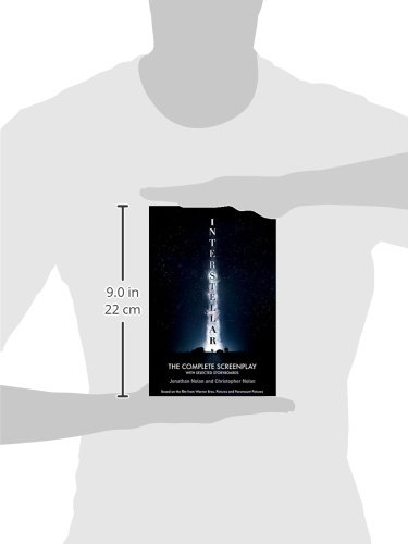 amazon interstellar the complete screenplay with selected