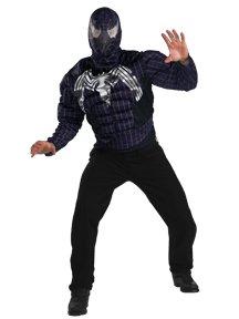 Spider Man Venom Value Muscle Adult Costume