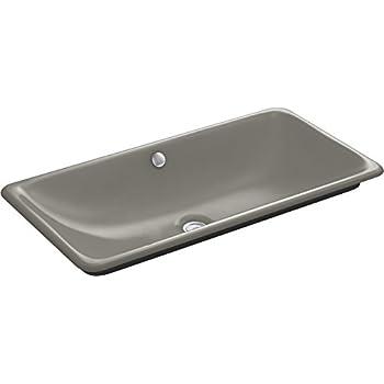 Kohler K 20212 0 Iron Plains Bathroom Sink White